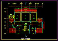 نقشه معماری ویلایی دوبلکس جدید